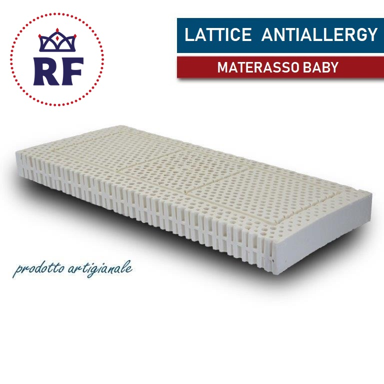 Vendita Materassi In Lattice On Line.Materasso In Lattice Per Bambini Antiallergy Regina Flex