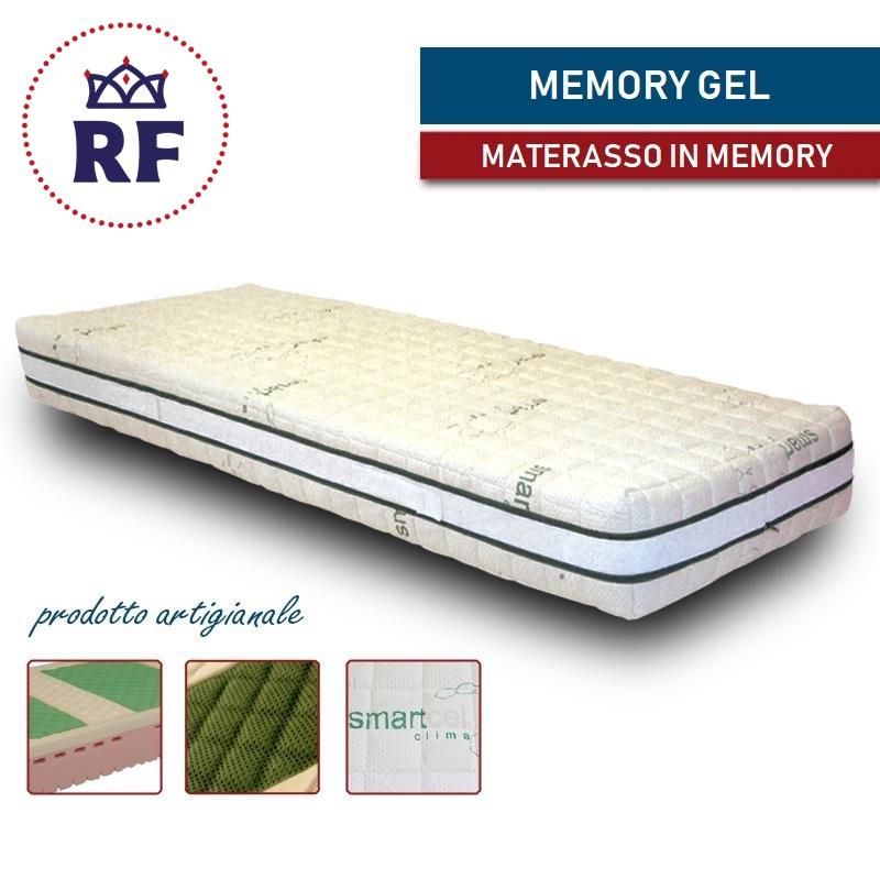 Materasso Memory Con Gel.Materasso Memory Gel Sfoderabile Altezza 19 21cm